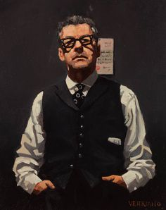 Jack Vettriano - self-portrait with love letter - oil on canvas - painted in - Jack Vettriano (born 17 November is a Scottish painter. His 1992 painting, The Singing Butler, became a best-selling image in Britain. Jack Vettriano, Oil Painting For Sale, Paintings For Sale, High Society, The Singing Butler, Impressionist Paintings, Art For Art Sake, Gustav Klimt, The Villain