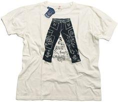 "MISTER FREEDOM(ミスターフリーダム)& SUGAR CANE(シュガーケーン)コラボ""7161M""Tシャツ/sc74353"