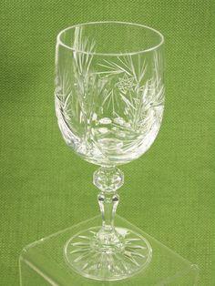 pinwheel cut glass