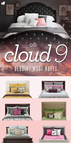 Create your own Cloud 9 with the softest bed sheets you will ever touch from American Signature Furniture!