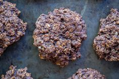 Healthy Make Ahead Breakfast Cookies - 6 Ways- Chocolate Peanut Butter