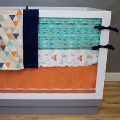 Hey, I found this really awesome Etsy listing at https://www.etsy.com/listing/489496691/baby-bedding-fox-crib-bedding-triangles