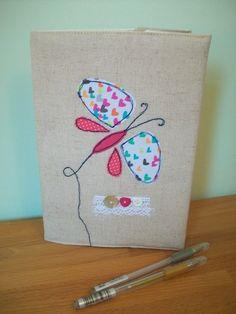 Butterfly Applique Notebook