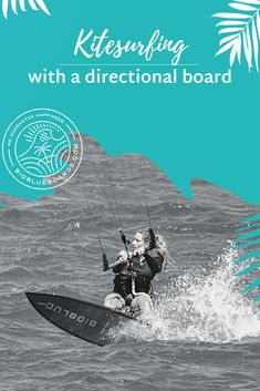 7 steps how to learn kitesurfing on a directional kiteboard with ease. Kite Board, Sailing Outfit, Kitesurfing, Backpacker, Rock N Roll, Recycling, Facebook, Learning, Blog