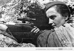this is Lyudmila Pavlichenko famous soviet famous sniper in ww2