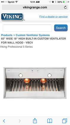 60X18 Ventilator