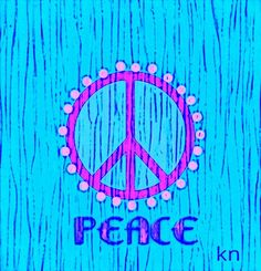 Peace Sign Art ✌❤