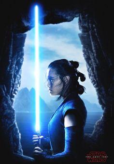 Star Wars: The Last Jedi Rey (from Star Wars) Daisy Ridley Rey Star Wars, Star Wars Film, Star Wars Poster, Star Wars Art, Daisy Ridley Star Wars, Stargate, Luke Skywalker, Chewbacca, Star Wars Personajes