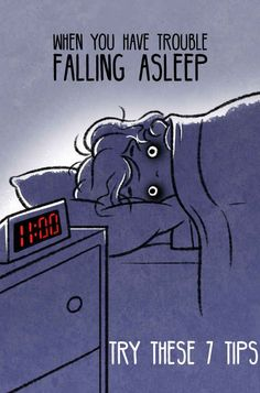 7 Tips For People Who Struggle To Fall Asleep