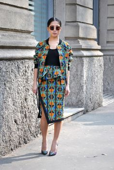 Street Style: Milan Fashion Week, Fall 2013 | NMdaily