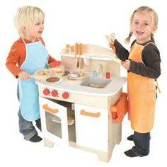 Hape - Playfully Delicious - Gourmet Kitchen - Play Set - Cool Kitchen Gifts