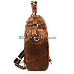 Backpack Sling Bags Leather Sling Backpack Sling Backpack, Leather Backpack, Leather Bag, Sling Bags, Shopping Bag, Backpacks, Unisex, Canvas, Metal
