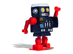 After whittling your pencil, this robot strides across the desk. #SchoolSupplies
