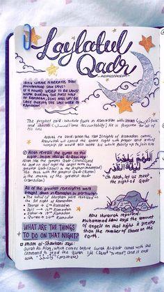 "#1 - ""Virtues of Laylat al-Qadr"" by Sheikh @omarsuleiman504 (it's on youtube) aisyahshakirah.tumblr.com"