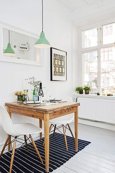 charming table for two indoors / sfgirlbybay