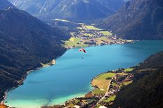 Pertisau, Achensee, Tirol, Austria - For Josh Kitesurfing, Innsbruck, Wilder Kaiser, Tirol Austria, Seen, Northern Italy, Pretty Pictures, Wonders Of The World, Places To See