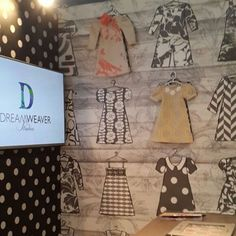 A little peek at our stand at 100% Design 2015...