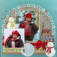 A Project by marilou64 from our Scrapbooking Gallery originally submitted 02/03/10 at 06:56 AM