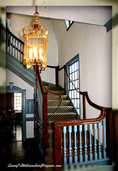 Living In Williamsburg, Virginia: King's Arms Tavern Foyer, Colonial Williamsburg, Virginia