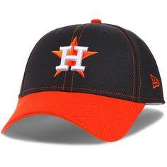 best service d4a18 95313 Men s Houston Astros New Era Navy Orange Fundamental Tech Diamond Era  9FORTY Adjustable Hat