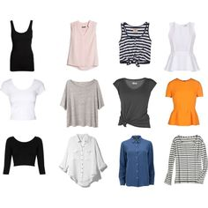 A fashion look from April 2014 featuring striped shirt, oversized t shirt and long sleeve tops. Browse and shop related looks. Capsule Wardrobe, Long Sleeve Tops, Fashion Looks, Sleeves, T Shirt, Shopping, Supreme T Shirt, Tee Shirt, Cap Sleeves