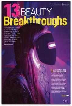 Beauty Breakthrough!  IlluMask: Anti Acne Treatment and Anti Aging Treatment