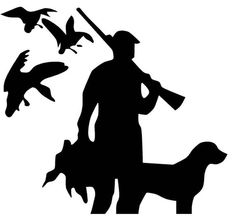 Sale Duck hunters vinyl decal for cars walls tumblers cups laptops windows Home Laptop Computer Truck Car phone Bumper Sticker Decal Wood Pallet Art, Wood Art, Duck Hunting Tattoos, Duck Tattoos, Duck Silhouette, Hunting Decal, Hunter Dog, Wood Burning Patterns, Scroll Saw Patterns