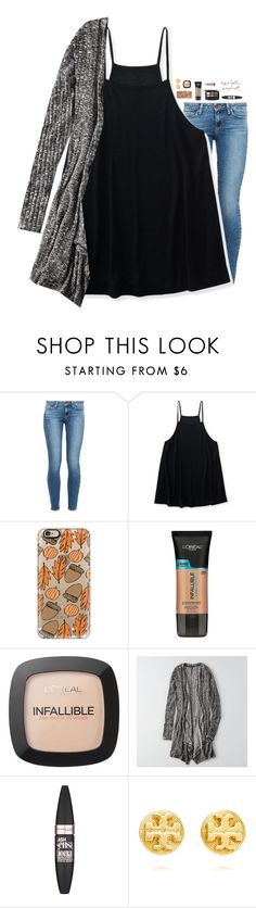 """""""Fall."""" by southern-belle606 ❤ liked on Polyvore featuring Paige Denim, Aéropostale, Casetify, L'Oréal Paris, Butter London, Les Petites..., American Eagle Outfitters, Maybelline, Tory Burch and Burt's Bees"""
