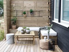Hot Tub Backyard, Small Backyard Landscaping, Backyard Patio, Raised Bed Garden Design, Back Garden Design, Outdoor Garden Furniture, Outdoor Decor, Outside Patio, Dere