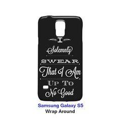 I Solemnly Swear Samsung Galaxy S5 Case Cover Wrap Around