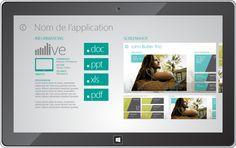 App Innovantes for Windows 8 on Behance