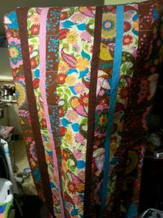 Curtains, Quilts, Blanket, Knitting, Cotton, Twin, Bohemian, Chocolate, Home Decor