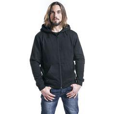 Black Premium by EMP  Vest met capuchon  »Basic Zipper« | Nu te koop bij Large | Meer Kunsthars  Vesten met capuchon online beschikbaar - De beste prijs!