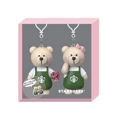 V Day Bearista Bear Accessory Starbucks Merchandise, Seasons, Christmas Ornaments, Holiday Decor, Cute, Seasons Of The Year, Christmas Jewelry, Kawaii, Christmas Decorations