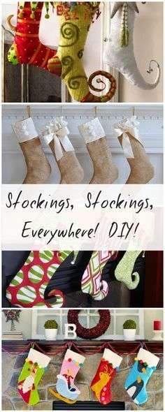 DIY Christmas Stockings • Tutorials and ideas full of inspiration!