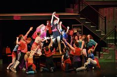 Carmen (Lucy Ann Werner) leads the charge of `Fame` at the New York City High School for the Performing Arts. `Fame - The Musical` is on stage this weekend and next at Artpark. (photo by Matt Buckley/MMBArts Photography and Artpark)