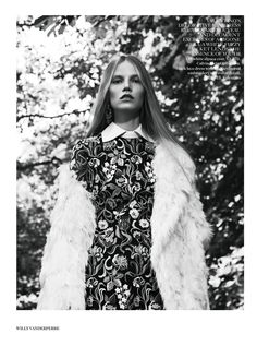 visual optimism; fashion editorials, shows, campaigns & more!: wonderland: suvi koponen by willy vanderperre for uk vogue november 2013