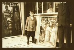 12 Year Old Usher at the Princess Theater, by Lewis Wickes Hine