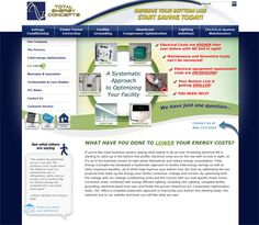 Web design for Total Energy Concepts. Faster Solutions: www.fastersolutions.com