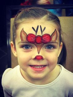 Image result for holiday face painting