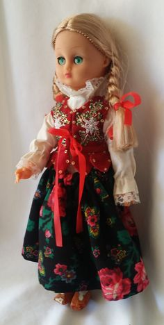 """Haunted Doll 13"""" Plastic Doll  ~ Paranormal Doll Active Spirit Ghost Doll ~ Russian Baba Yaga ~ Green Eyed Witch by FugitiveKatCreations on Etsy"""