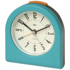 Turquoise alarm clock from All Modern. $36
