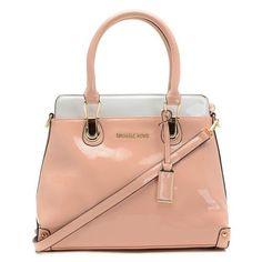 Michael Kors Small Leather Satchel Handbag Pink - Handbags - Michael Kors Categories