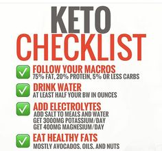 Keto grocery list, food and recipes for a keto diet before and after. Meal plans with low carbs, keto meal prep for healthy living and weight loss. Diet Plan Menu, Keto Meal Plan, Meal Prep, Healthy Fats, Healthy Eating, Daily Checklist, Keto Food List, Keto Foods, Paleo Diet