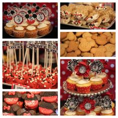 Vintage Mickey Mouse & Minnie Mouse party treats