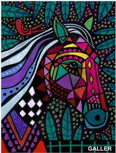 Horse Art Original Painting by Heather Galler by HeatherGallerArt, $250.00