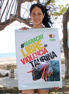 ¡L@s aragüeñ@s se pronuncian contra la barbarie! #MaracayLibreDeViolenciaTaurina  http://noticias.masverdedigital.com/  https://www.facebook.com/masverde.periodicoecologico/ https://www.facebook.com/GritoAnimalmcy/