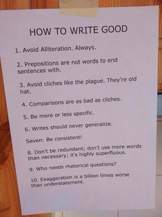 If you are trying to be a writer take this advice, it could save your sense of humor #PubChat