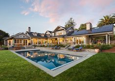Modern Farmhouse Pool Energy Efficient Homes Efficiency Los Altos Hills Solar