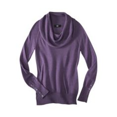 Mossimo® Women's Ultra Soft Cowl Neck Sweater - Target